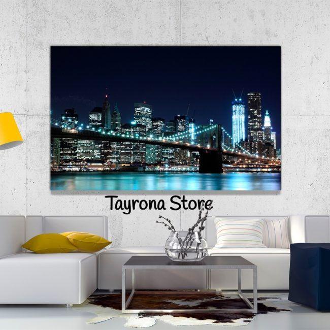 Cuadro Decorativo Tayrona Store Para Sala o Alcoba Ciudad New York 37