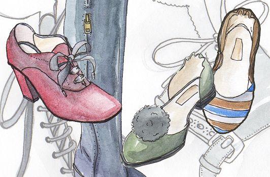 Coco la Coquette ilustra la nueva colección de Preventi | itfashion.com