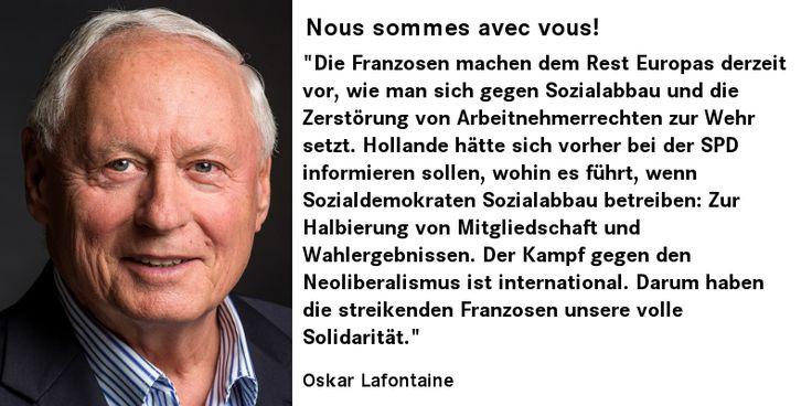 #oskar #Lafontaine über den #streik in #Frankreich #France #greve #lagauche #dielinke #linksfraktionsaar http://bit.ly/212y4xm