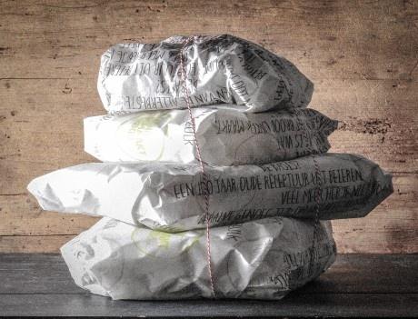 Handgemaakt brood verpakking