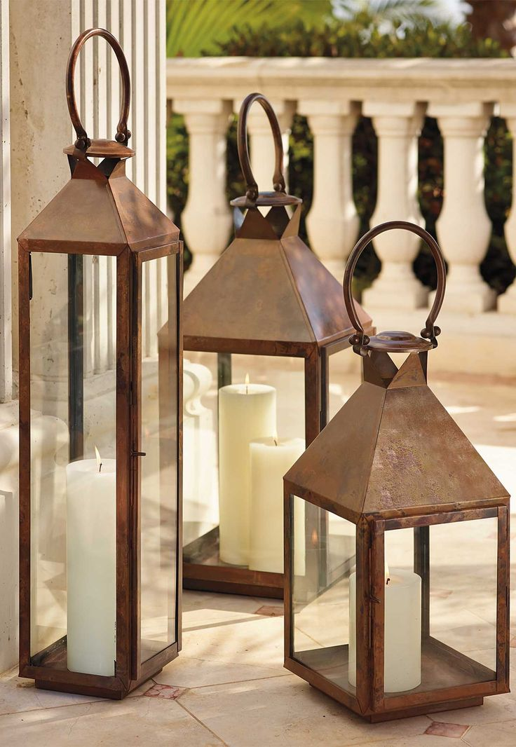 Notable for their traditional appearance, our large Solano Lanterns combine classic design with modern craftsmanship techniques.