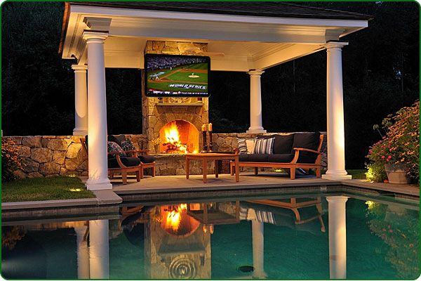 pool-cabana-with-fireplace-and-outdoor-tv