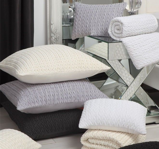 Cable European Pillowcase Range | Manchester Warehouse