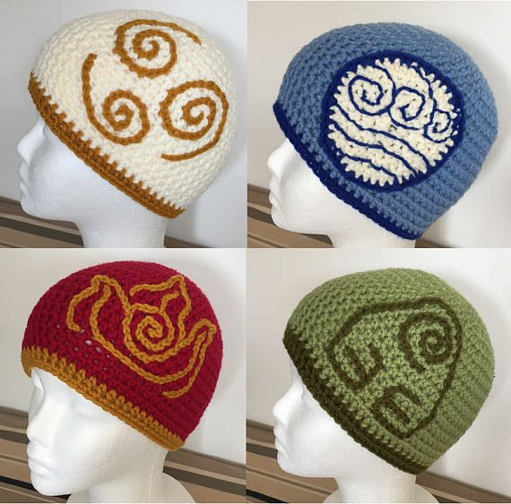 Avatar the Last Airbender inspired Hats