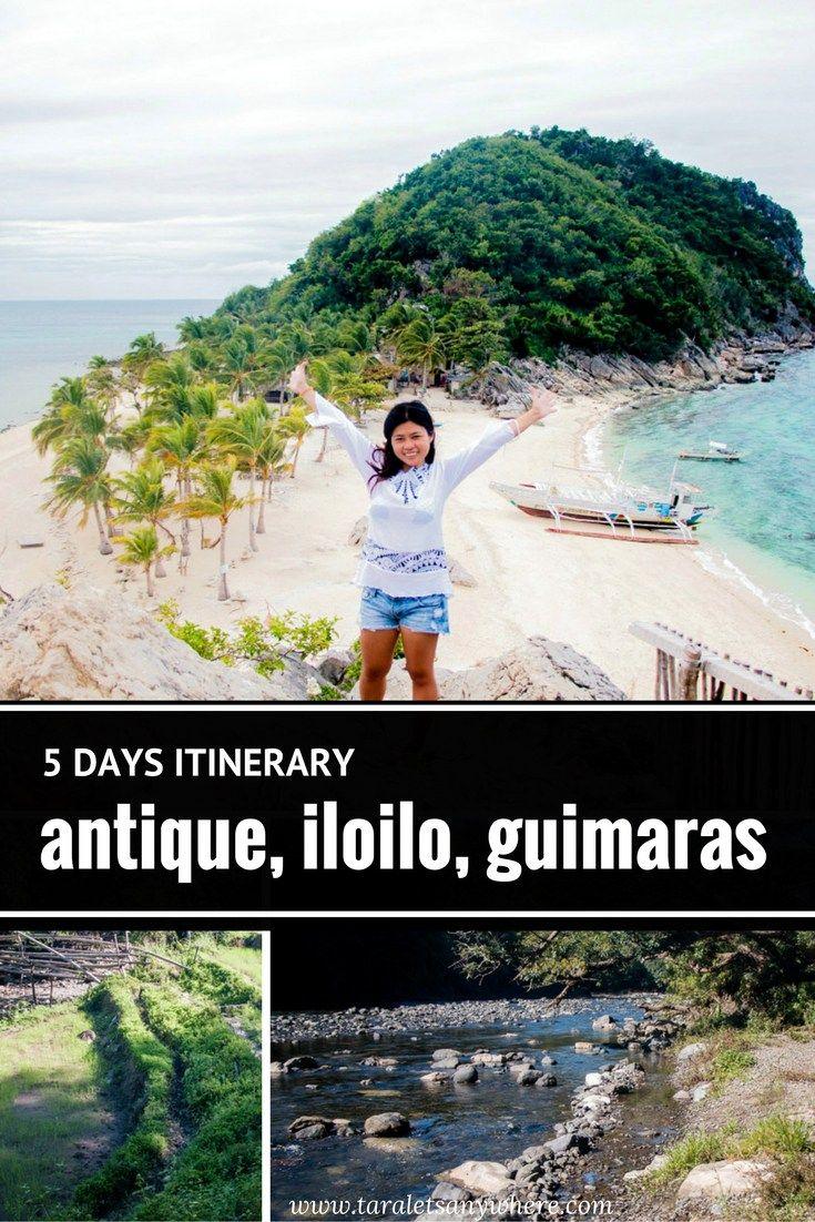 Antique Iloilo Guimaras itinerary for 5 days - Philippines