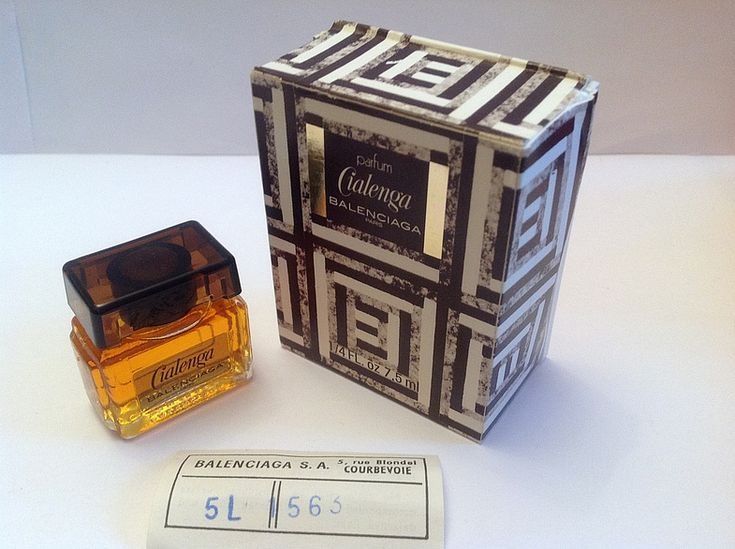 Моя коллекция. Духи Cialenga Balenciaga vintage parfum 7.5 ml