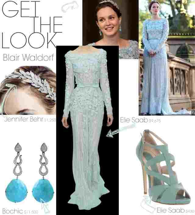 The blair waldorf look dream wedding pinterest blair for Wedding dress blair waldorf
