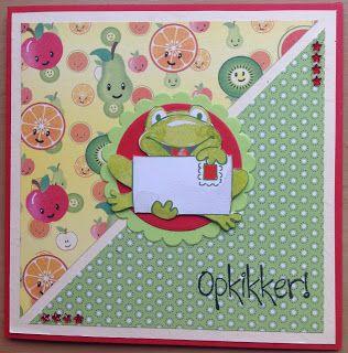 Kaartenblog van Tineke: Opkikker!