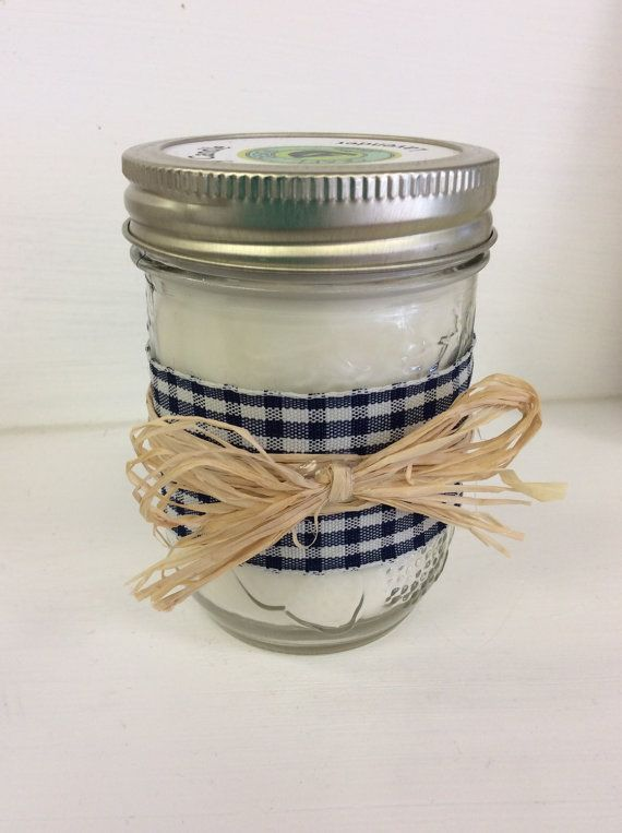 You can order custom scents and colors from this shop.  Customize this mason jar candle for any event!