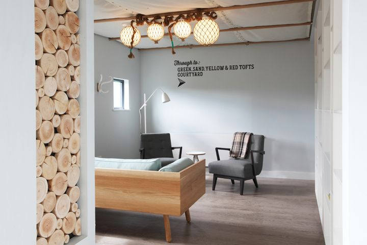 Hotel design for the new library at The Inn at John O'Groats