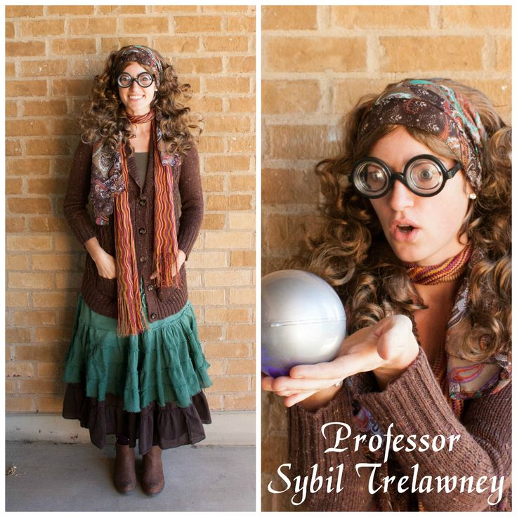 Harry Potter Costume Ideas, Delicious Reads, Professor Trelawney Costume