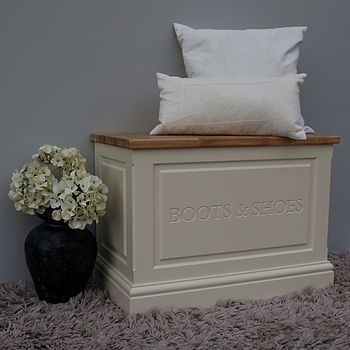 Boot And Shoe Box By Chatsworth Cabinets | Notonthehighstreet.com