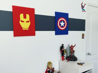 Avengers Themed Kidu0027s Bedroom Decor (With DIY Touches). Click Or Visit  FabEveryday