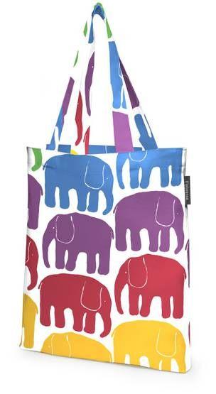 Elefantti-kauppakassi - Finlayson verkkokauppa