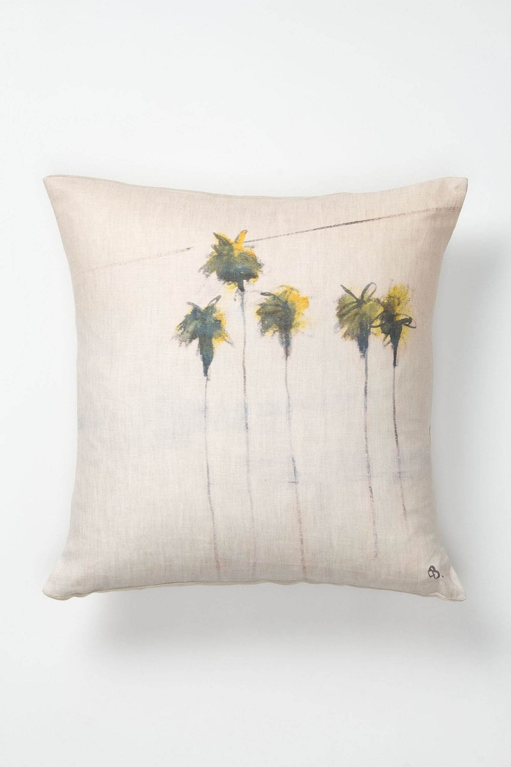 Anthropologie: Five Palms Pillow