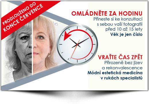 Omládněte o 10 let se slevou 10.000 kč - Medical Institut