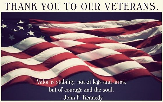 Thank You Veterans Day Quotes