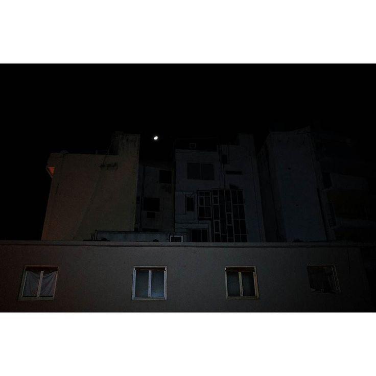 Emptiness #skantzman #heraklion #crete #urban #moon #colour #ricohgr #manolisskantzakis #photography #flash