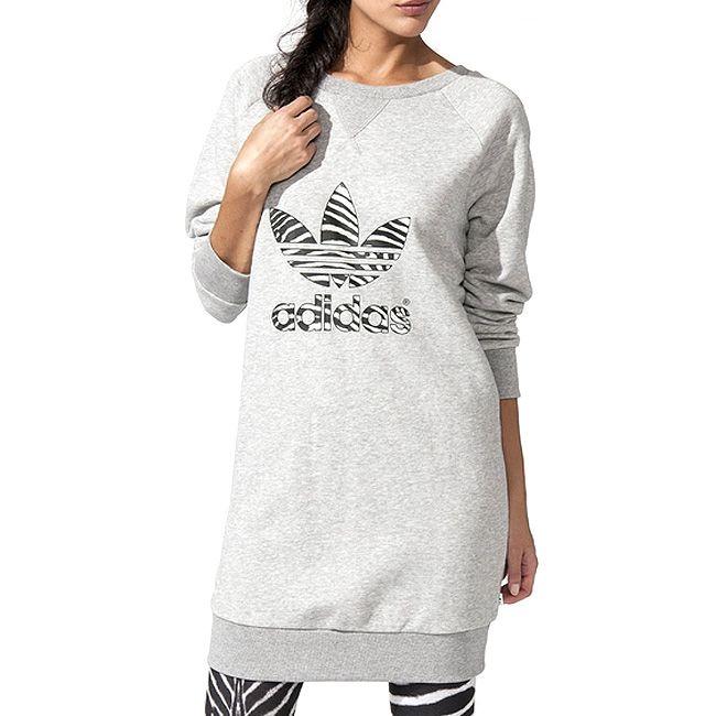 adidas SWEAT DRESS dámská mikina