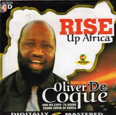 Oliver De Coque - Rise Up Africa - CD