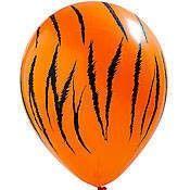 Ballon met tijgerstrepen - Tuf-Tuf.NL
