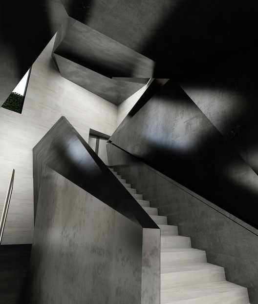 Stairs - Boontheshop store in Seoul by Peter Marino
