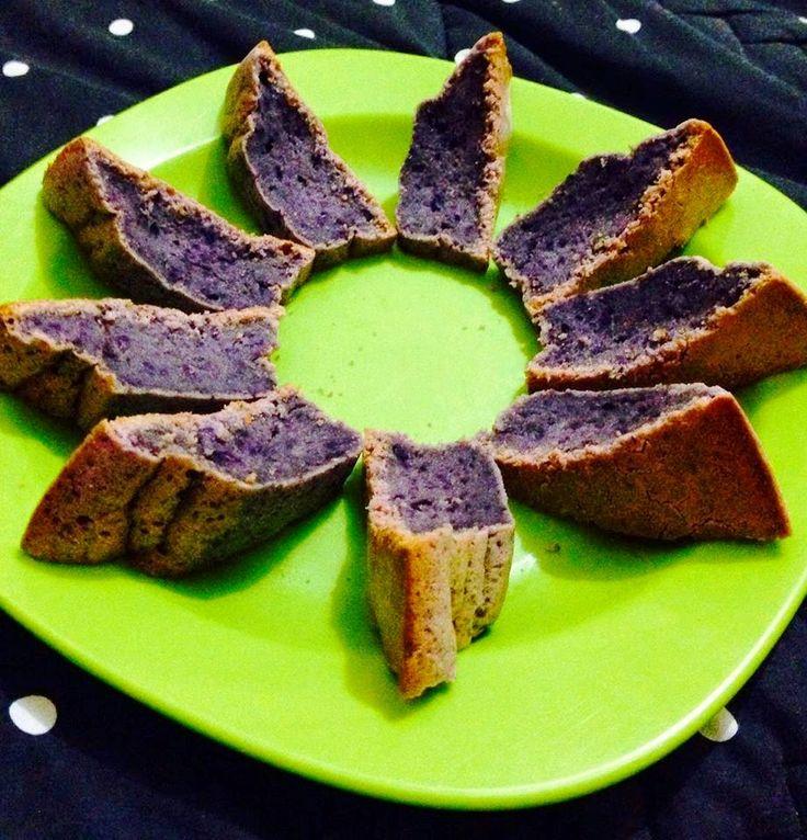 Kuih M@reth@: Cake Ubi Ungu