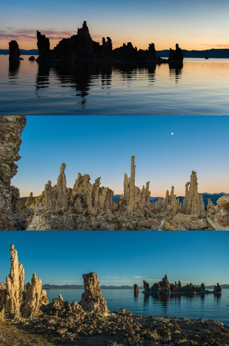 Mono Lake A Sunrise Walk On The Moon California Usa