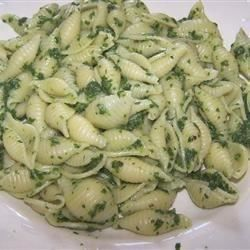 Spinach and Pasta Shells Allrecipes.com