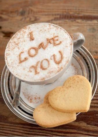 i love you art of latte