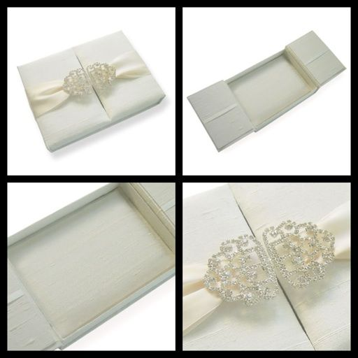 807 best Crystal Embellishments, Buckles, Buttons, Brooches - fresh invitation box
