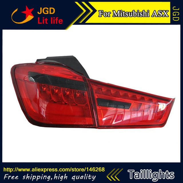 Car Styling tail lights for Mitsubishi ASX 2013 LED Tail Lamp rear trunk lamp cover drl signal brake reverse ** Find out more at the image link. #CarLights