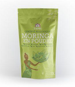 Moringa est appelé également « l'Arbre Miracle ». Il est à ce jour considéré comme l'une des sources végétales les plus élevées en minéraux et en vitamines. Toutes les parties de l'arbre sont propres à la consommation humaine et présentent une grande diversité nutritive. La Moringa en poudre Iswari est composée à 100% de feuilles de Moringa en provenance d'Afrique qui, après récolte et lavage sont déshydratées de manière naturelle afin de préserver toute la richesse de cet aliment.