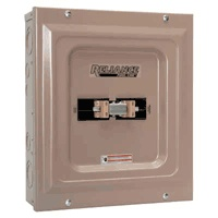 Reliance Generator Transfer Switch - 100 Amp, 240 Volt $100.00