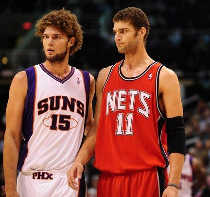 Robin and Brook Lopez
