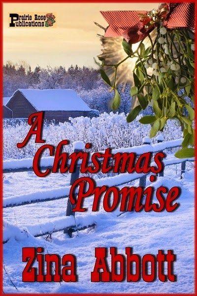 Zina Abbott Books: Cover for A CHRISTMAS PROMISE... This heartwarming tale of a bleak Christmas set in 1873 Wyoming tells of the gift of second chances and a promise for a brighter future.