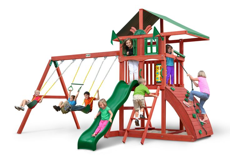 Highcrest Gorilla Swing Set