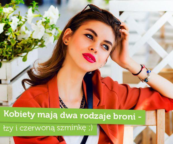 #kobieta #cytat #czerwona #szminka #calaja #drogerienatura