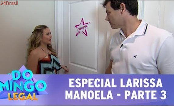 Domingo Legal (23/07/17) - Especial Larissa Manoela - Parte 3