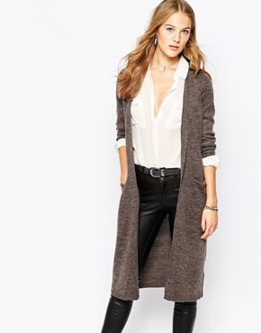 fake cheap bags Vila Longline Cardigan