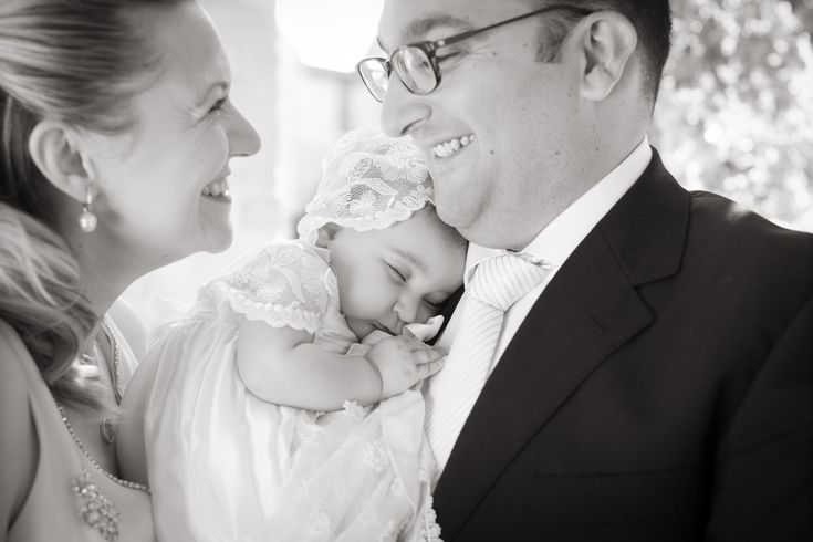 Baby christening photography/ family portrait