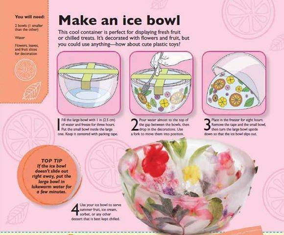 How to make an ice bawl