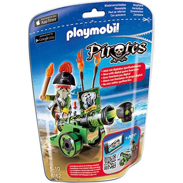 PLAYMOBIL Pirat mit grüner Kanone