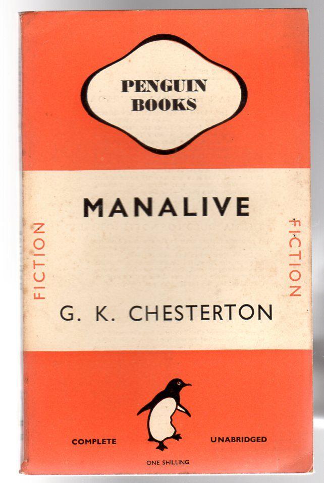 Manalive, Chesterton, G. K.