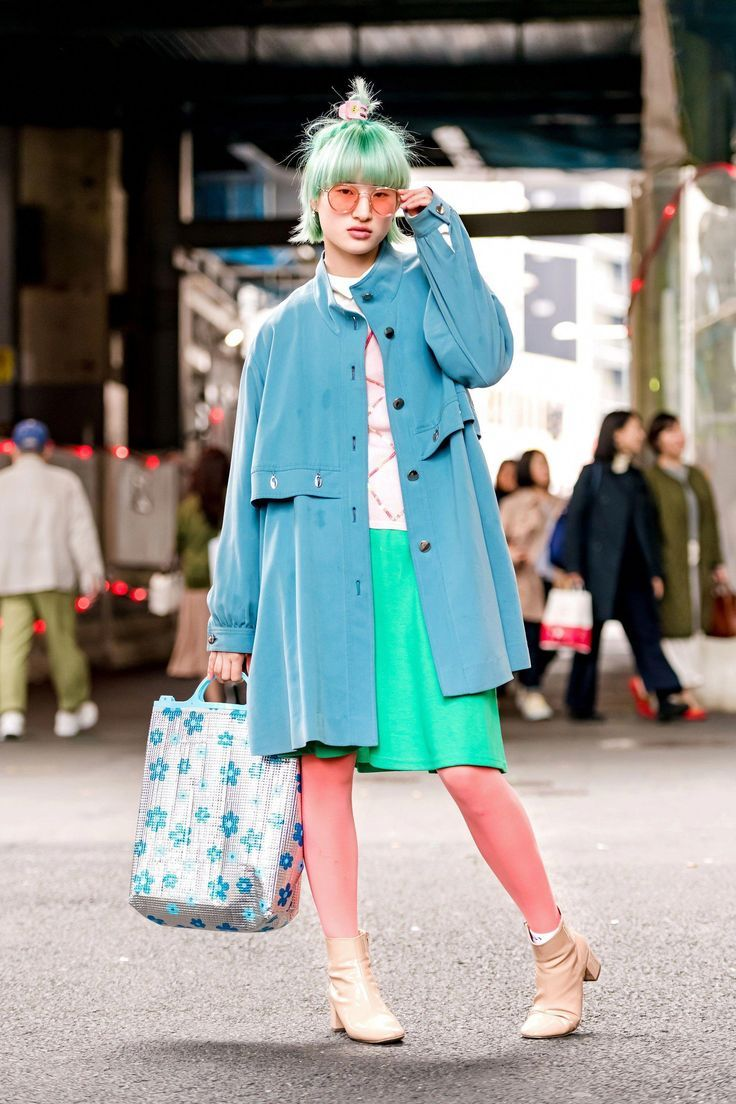 The Best Street Style From Tokyo Fashion Week Fall 2018 #streetfashiontrends