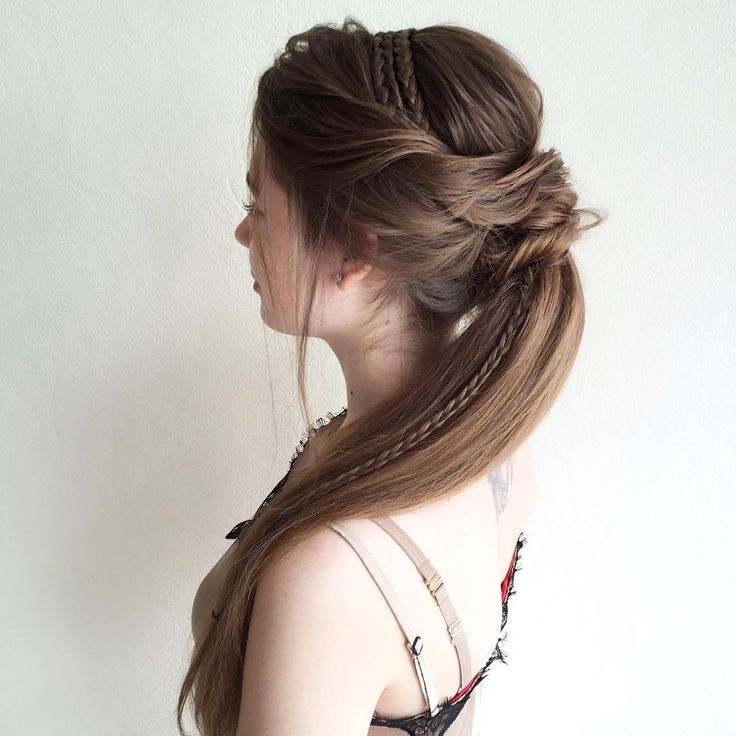 Long Hair Style 107 Best Really Long Hair Images On Pinterest  Long Hair Hairdos