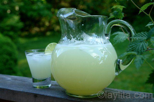 Receita rápida e fácil para fazer limonada caseira e refrescante.