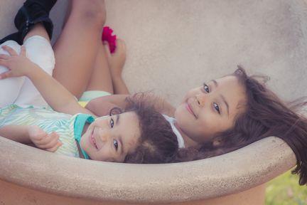 La hermosa amistad de la niñes.