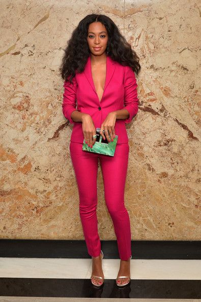 Solange Knowles attends Gucci Beauty Launch Event Hosted By Frida Giannini... She looks like a Barbie!