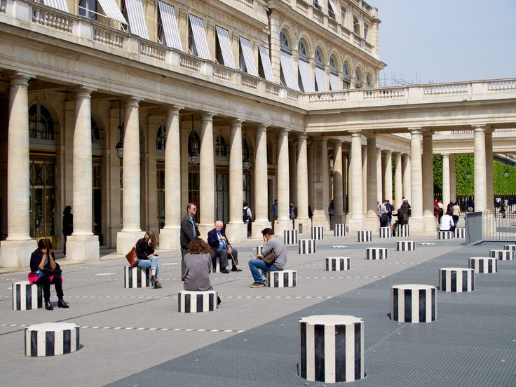 Jardin du Palais Royal - Now is the best time to enjoy Palais Royal, seeing as it was just recently renovated. The iconic yet underrated striped columns are the perfect place to enjoy the sun for a bit, people watch